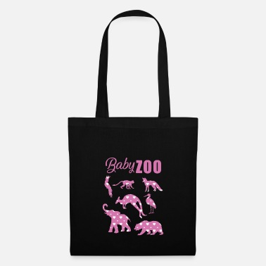 Bébé Animal Zoo bébé - Animaux - Animaux - Tote Bag