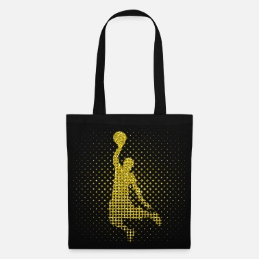 Joueur De Basket-ball joueur de basket-ball d'or - basket-ball d'or - Tote Bag