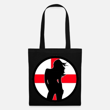 Cross Sexy Girl England 002 - Tote Bag