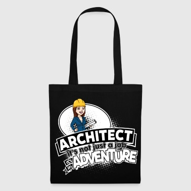 Female Architect - Adventure - Stoffbeutel