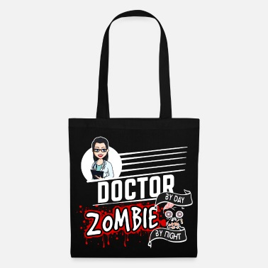 Doctors Female Doctor Female Doctor - Zombie by night - Tote Bag