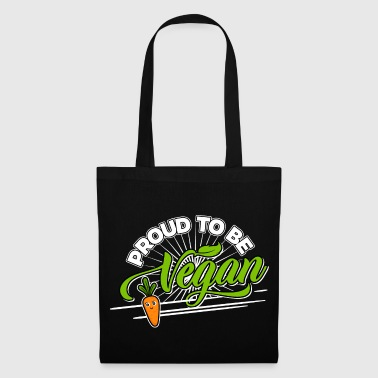 Vegan - Proud to be Vegan (Carrot) - Tote Bag