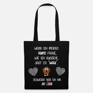 Poodle Dogs Motive Tote Bag
