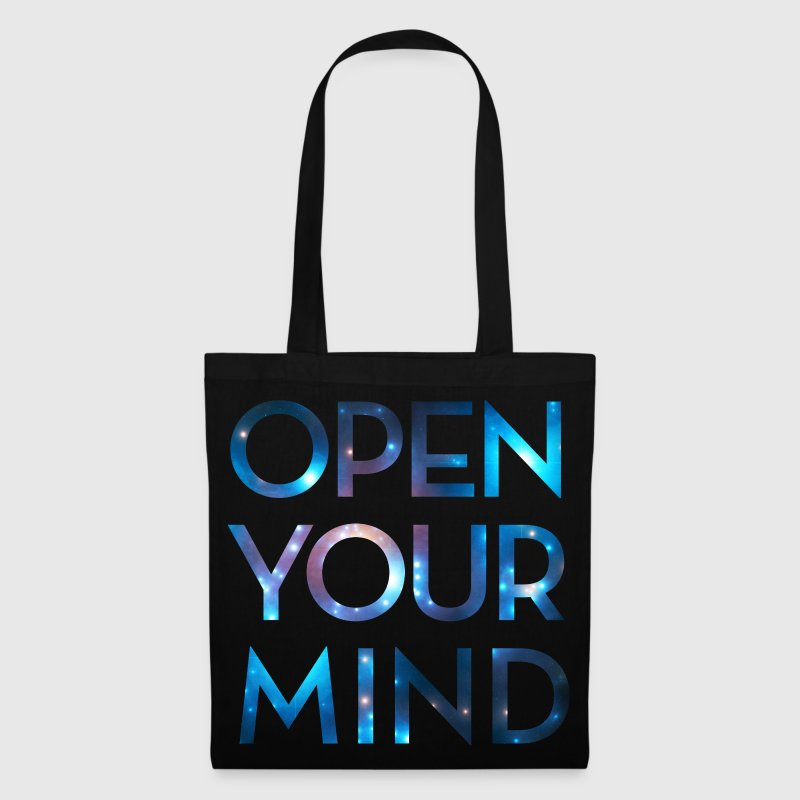OPEN YOUR MIND, galaxie, univers, méditation,  - Tote Bag