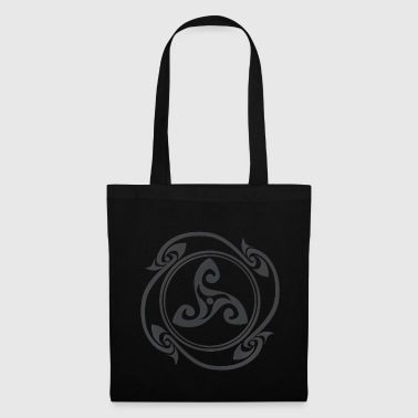 Symbole celtique Latene gris - Tote Bag