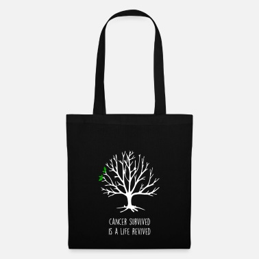 Cancer Survivor cancer survived cancer survivor - Tote Bag