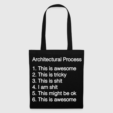 Architectural process - Tote Bag