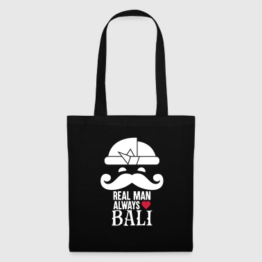 Real man always love Bali - Tote Bag