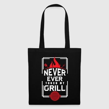 Grill BBQ Never Touch My Grill BBQ Lover - Tote Bag