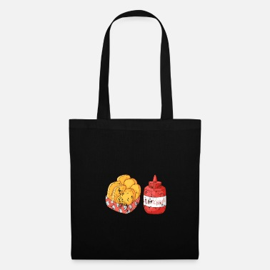 Hungry Retro vintage grunge french fries french fries - Tote Bag
