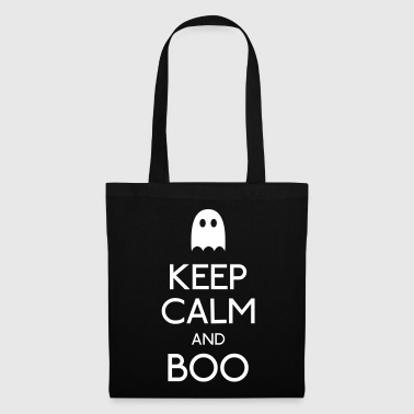keep calm and boo - Borsa di stoffa