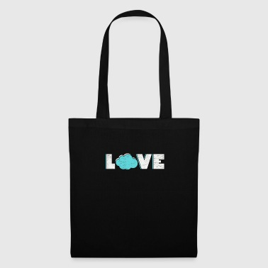 I love clouds gift wind autumn weather - Tote Bag