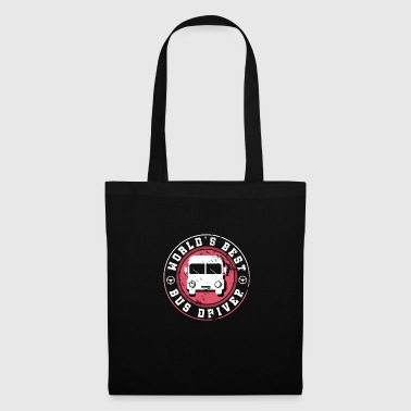 Worlds Best Bus Driver Funny Gift Family - Tote Bag