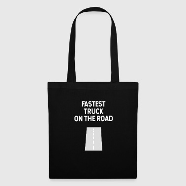 Camion routier routier - Tote Bag