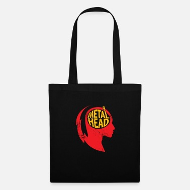 Heavy Metal Metal Head Gift Christmas Music Rock - Tote Bag