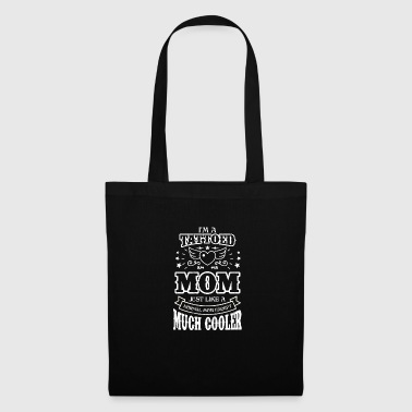 Womens Tattoed famille Maman beaucoup plus cool que d'autres - Tote Bag