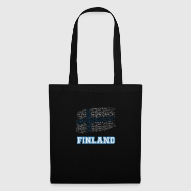 Finland flag - Tote Bag