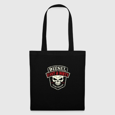 Diesel Power Fast and Dirty Powerstroke Gear - Tote Bag