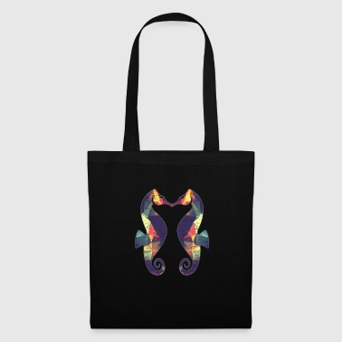 Creature Sea horse gift Christmas birthday ocean - Tote Bag
