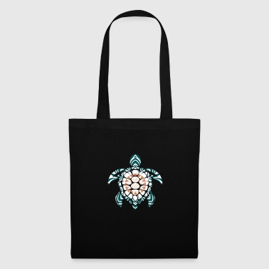Image Mandala Turtle Gift Kids Colorful - Tote Bag