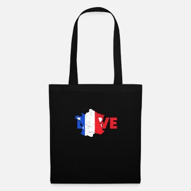 Baguette Love France gift Christmas trip - Tote Bag