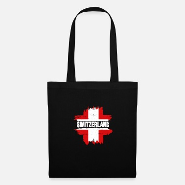 Switzerland Switzerland gift cheese flag mountains - Tote Bag