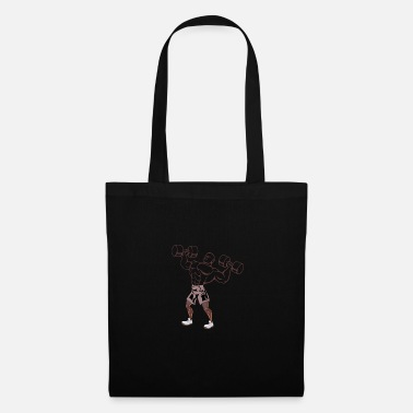 Six Pack Strongman, Stronmen, Dumbbell, Arms, Muscles, Short H - Tote Bag