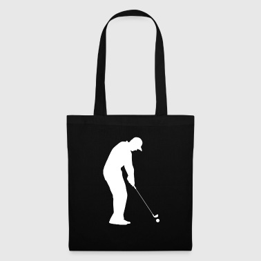 Golf Golfer Golfer Terrain de golf - Tote Bag