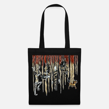 Slender Man Hanging CreepyPasta - Tote Bag