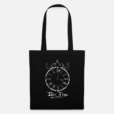 Clock Take Time Clock Clock white - Tas van stof