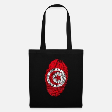 Djerba Tunisie empreintes digitales - Tote Bag