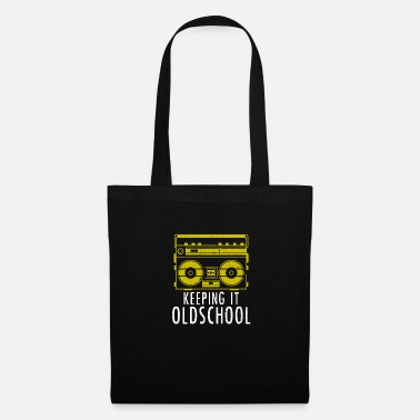 Old School Hip Hop Old School Boombox - Ghettoblaster Music Hip Hop - Tote Bag