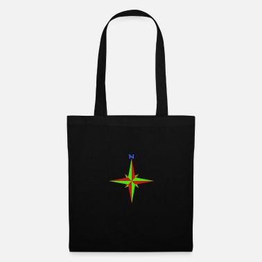 Compass Windrose / compass rose / compass / compass - Tote Bag