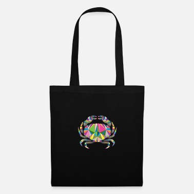 Crab Geometric Crab - Tote Bag