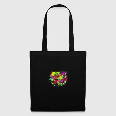 Splatter Lotus - Tote Bag