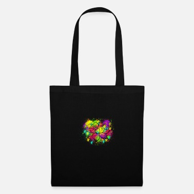 Splatter Splatter Lotus - Tote Bag