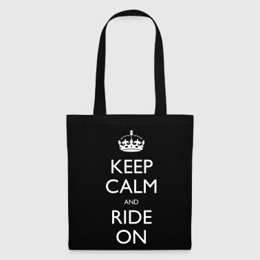 Keep Calm Keep Calm and Ride On - Tote Bag