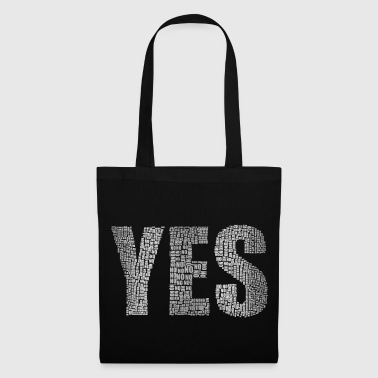 Silver Yes Silver - Tote Bag