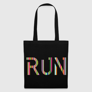 RUN, running, gift idea, gift - Tote Bag