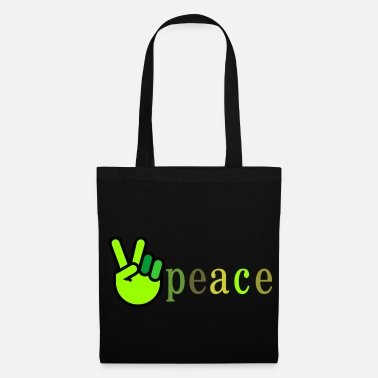 Green Peace Peace green / green - Tote Bag