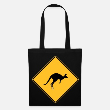 Kangourou Attention Kangourou - Tote Bag