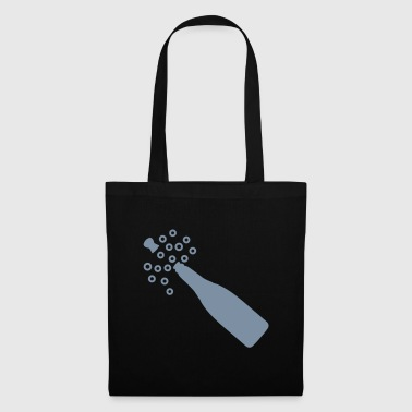 Champagne Bottle Popping - Tote Bag