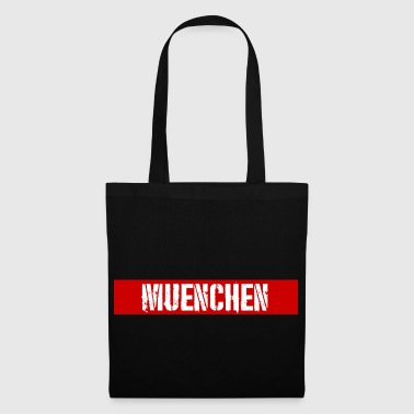 Munich redstripe - Tote Bag