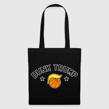 DUNK TRUMP - Anti Trump Basketball Shirt Parody - Tas van stof