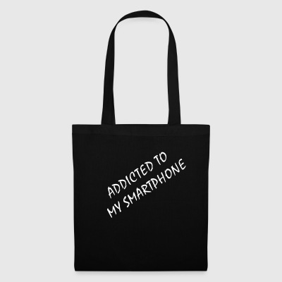 Addicted to my smartphone - Tote Bag