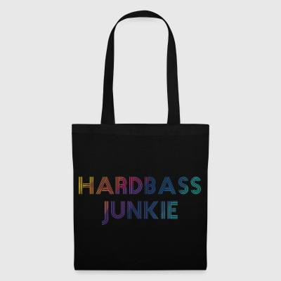 Hard Bass Junkie Hard Bass Techno Electro Fix - Tygväska