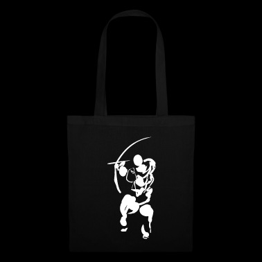 Path of the bow (white) - Tote Bag