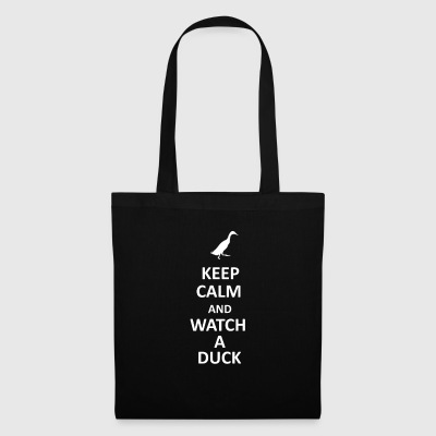 KEEP CALM AND WATCH A DUCK - Tote Bag