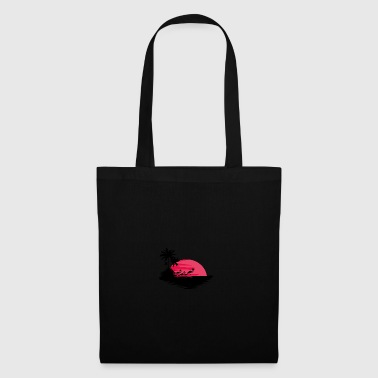 Red Sunset - Tote Bag