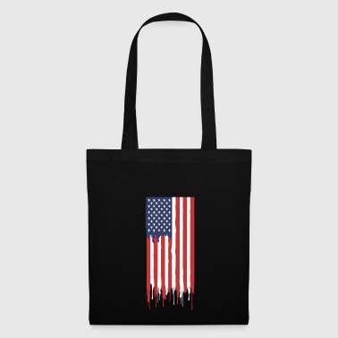 USA American flag - Tote Bag